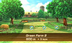 Green Farm 2 overview from Mario Sports Superstars