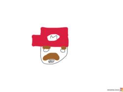 Hand-drawn Mario head.png