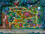 Horror Land: The whole map, filled with horror elements. From Mario Party 2.