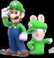 Luigi n Rabbid - RabbidsKingdomBattle.png