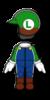Luigi Mii racing suit from Mario Kart 8