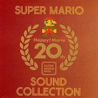 Front cover from Happy! Mario 20th - Super Mario Sound Collection album.