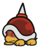 Spike Top sprite from Paper Mario: Color Splash.