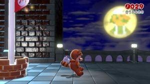 Luigi sighting in A Beam in the Dark in Super Mario 3D World.