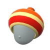 "The ""Super Acorn Hat"" Mii headwear"