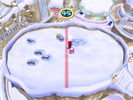 Snow Brawl at day from Mario Party 6