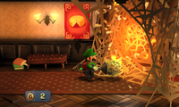 Sticky Situation from Luigi's Mansion: Dark Moon
