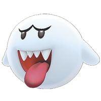 A Big Boo from Super Mario 3D World.