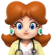 """Sprite of Dr. Daisy from """"Dr. Mario World"""""""