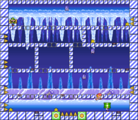 Level 4-5 map in the game Mario & Wario.