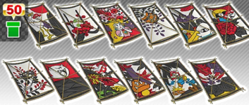 The Mario Hanafuda Pipe from the 2021 Trick Tour in Mario Kart Tour