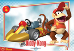 Mario Kart Wii trading card for Diddy Kong.