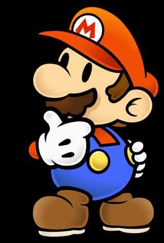 Mario thinking