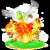 Super Dragon trophy from Super Smash Bros. for Wii U