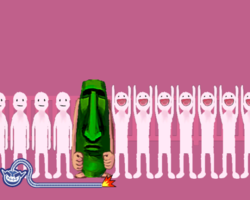 Fitting In in WarioWare: Smooth Moves.
