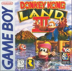 The front box art for Donkey Kong Land III