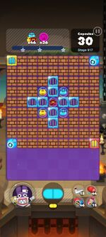 Stage 917 from Dr. Mario World