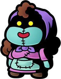 Artwork of Eve from Paper Mario: The Thousand-Year Door
