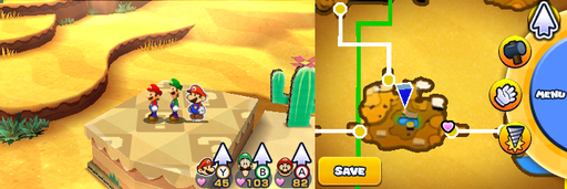 Location of the third and last item patch in Doop Doop Dunes.