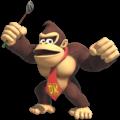 Artwork of Donkey Kong in Mario Golf: Super Rush