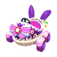Purple Bunny from Mario Kart Tour