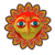 Angry Sun icon in Super Mario Maker 2 (New Super Mario Bros. U style)