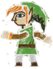 Wall-Merged Link's spirit sprite from Super Smash Bros. Ultimate