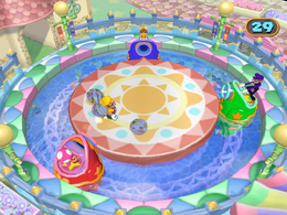 Spray Anything from Mario Party 7