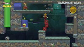 The Super Mario Maker 2 Story Mode level Let's Go, Builder Mario!