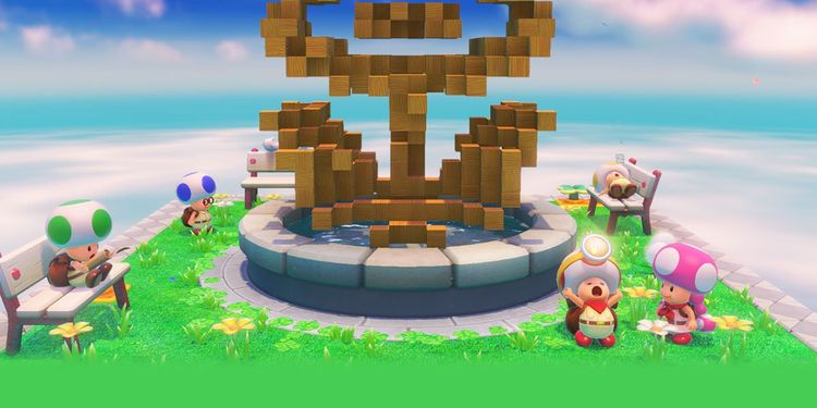 Picture shown with the fifth question of Captain Toad: Treasure Tracker Nintendo Switch Personality Quiz