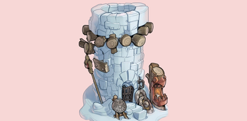 Concept artwork, unlocked in the Extras menu after collecting all Puzzle Pieces in Aqueduct Assault
