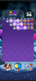 Stage 500 from Dr. Mario World