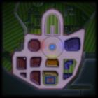 Wuhu Town bottom screen map