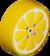 The Lemon_Yellow tires from Mario Kart Tour