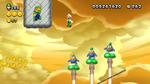 Luigi sighting in Stone Spike Conveyors from New Super Luigi U