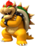 Bowser's artwork from New Super Mario Bros. Wii