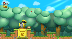 Mario in World 5-Cannon