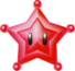 Render of a Red Star in Super Mario Galaxy.