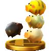 Li'l Oinks trophy from Super Smash Bros. for Wii U