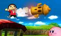 SSB4 3DS - Villager New Technique.png