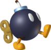 A Bob-omb from Mario Kart 7.