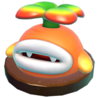 A picture of a Piranha Sprout from the Wii U game Captain Toad: Treasure Tracker