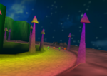 Darkmoon Caverns, from Diddy Kong Racing.