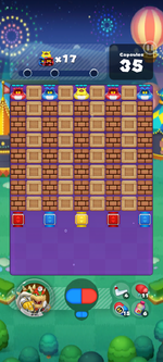 Stage 641 from Dr. Mario World