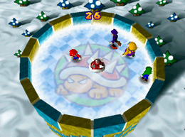 Ice Rink Risk from Mario Party 3.