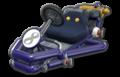 Thumbnail of Waluigi's Pipe Frame (with 8 icon), in Mario Kart 8.