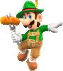 Luigi (Lederhosen) from Mario Kart Tour