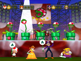 Pop-Star Piranhas from Mario Party 5