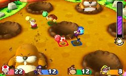 Mega Monty Mole's in the Hole from Mario Party: Star Rush