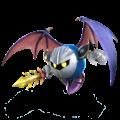 Artwork of Meta Knight, from Super Smash Bros. for Nintendo 3DS / Wii U.
